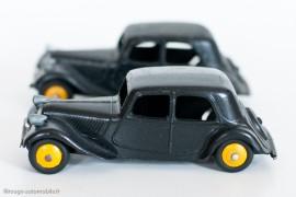 Citroën Traction Avant 11 de 1946 - Dinky Toys 24N