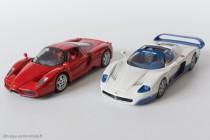 Maserati MC12 et Ferrari Enzo - IXO Models