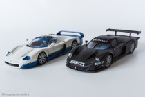 Maserati MC12, version route et GT1 version essais - IXO Models