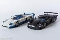 Maserati MC12, version route et GT1 version essais - IXO Models
