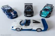 Famille Maserati MC12 par IXO Models