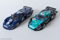 Maserati MC12 GT1 versions 2004 et 2005 - IXO Models