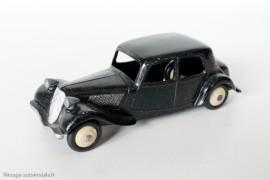 Citroën Traction Avant 11 BL  1953 - Dinky Toys 24N - 2ème type,  variante n°3