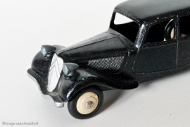 Citroën Traction Avant 11 BL  1953 - Dinky Toys 24N - 2ème type,  variante n°4