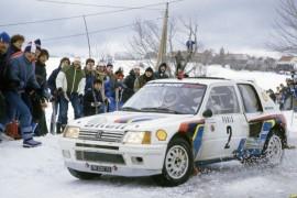 Peugeot 205 Turbo 16 - Vainqueur Rallye de Monte Carlo 1985 - Vatanen - Harryman