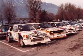 Les Groupe B en 1986