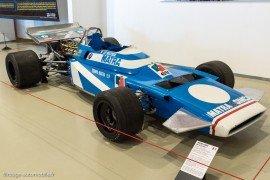 La Matra MS120 Formule 1 pilotée par Jean-Pierre Beltoise en 1970