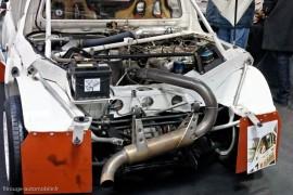 Peugeot 205 Turbo 16 Groupe B - le moteur et l'architecture d'une vraie voiture de course