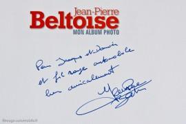 Dédicace de Jean-Pierre Beltoise à Lohéac en 2011