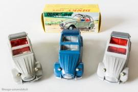 Citroën 2 CV 1966 - Dinky Toys réf. 500 françaises et espagnole