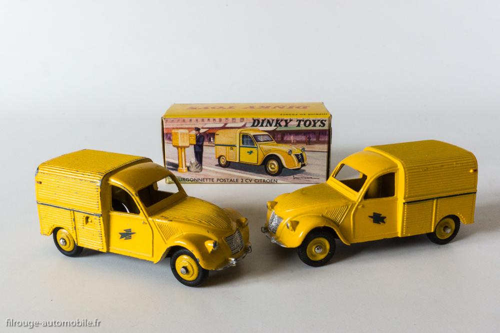 la citro u00ebn 2 cv dinky toys   30 ans au catalogue