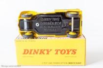 Citroën 2 CV fourgonnette postale - Dinky Toys réf. 562 - plancher sans référence