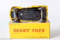 Citroën 2 CV fourgonnette Wegenwacht - Dinky Toys réf. 560 - Plancher avec référence 25 D