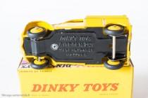 Citroën 2 CV fourgonnette postale - Dinky Toys réf. 562 - jantes convexes (pré-série), plancher sans référence