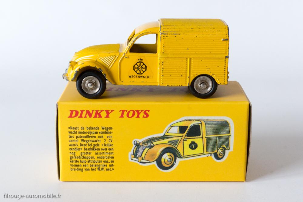 2cv fourgonnette dinky toys