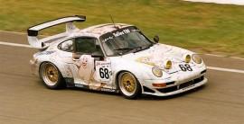 Porsche GT2 décorée par Wolinski en 1998