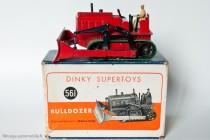 Blaw-Knox bulldozer - Dinky Toys 561 - modèle anglais en boite française