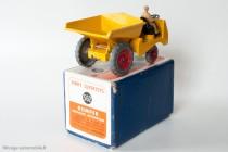 Muir Hill dumper - Dinky Toys Réf. 562 - modèle anglais en boite française