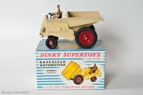 Muir Hill dumper - Dinky Toys Réf. 887 - modèle fabriqué en France