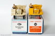 Muir Hill dumper - Dinky Toys 562 et 887 - modèles anglais en boite française et fabriqué en France