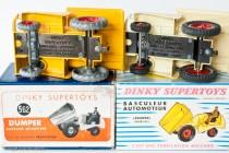 Muir Hill dumper - Dinky Toys Réf. 552 et 887 - Les deux versions