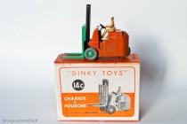 Conventry Climax chariot à fourche - Dinky Toys Réf. 14C - modèle anglais en boite française