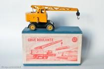 Grue mobile Coles « grue roulante » - Dinky Toys Réf. 571 - modèle anglais en boite française