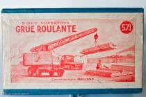 Grue mobile Coles « grue roulante » - Dinky Toys Réf. 571 - la boite française