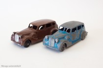 Dinky Toys 24P et 39A - Packard Eight Sedan