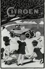 Publicité pour les Jouets Citroën en 1923 (crédit Citroën)