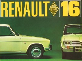 Un catalogue de la Renault 16