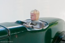 Citoën Rosalie V de record - Jouet Citroën réf. 75, détail sur le pilote
