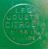 Citoën Rosalie V de record, marquage Les  Jouets Citroën