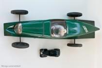Citoën Rosalie V de record  Jouet Citroën au 1/10ème avec Citroën Traction Dinky Toys au 1/43ème