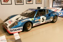 Musée des 24 Heures -  Ligier JS2 seconde en 1975