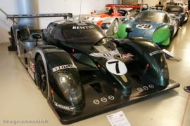 Musée des 24 Heures - Galerie des acteurs - Bentley Speed 8, Alpine, Audi...