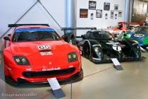 Musée des 24 Heures - Ferrari 550 Maranello et Bentley Speed 8