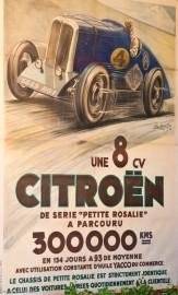 Affiche La petite Rosalie Citroën - Musée de Lohéac