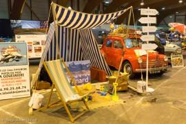 Rétro Passion Rennes 2015 - Renault 4CV, ambiance congés payés