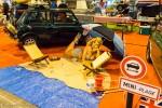 Rétro Passion Rennes 2015 - Austin Mini, ambiance congés payés