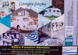 L'affiche de Rétro Passion Rennes 2015