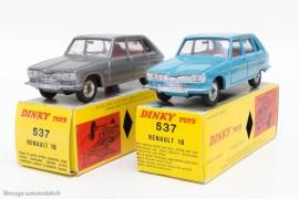Dinky Toys réf. 537 - Renault 16 - les deux couleurs
