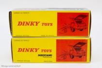 Dinky Toys réf. 537 - Les Renault 16, boite française et espagnole