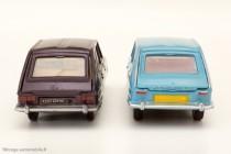Dinky Toys réf. 538 et 537 - Renault 16 TX et Renault 16 de 1965 - moule modifié