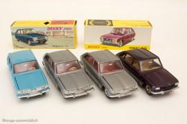 Dinky Toys réf. 537 et 538 - Les Renault 16