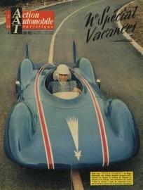 La Renault Étoile Filante fait la couverture de l'Action Automobile de août 1956