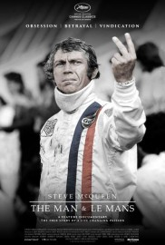 "Affiche du film ""McQueen: The Man & Le Mans"""