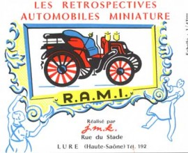 Catalogue RAMI 1960