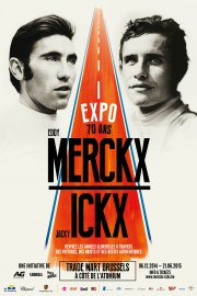 Affiche Expo 70 ans Merckx - Ickx / crédit organisateur