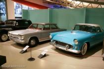 Musée des 24 Heures - Circuit de la Sarthe - Chevrolet Corvair et Ford Thunderbird